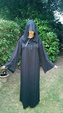 THEATRE  PARTY MEDIEVAL WITCH VAMPIRE TWILIGHT HOODED CLOAK CAPE  size 14-16