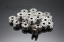 30 Nähmaschinenspulen für Singer Metallspulen für CB-Greifer Spulen NEU