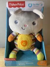 Tiny Garden Sweet Sounds Bunny - Tummy Lights Up And Plays Music