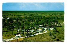 Pine Grove Cottages Gift Shop Postcard Crescent Beach Florida 1961 Postmark