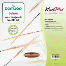 PRYM 8,00 mm doppelt Spitz Knit Pin-Set von 5 Nadeln 20 cm lang