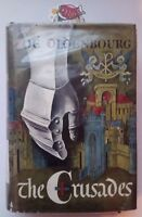 The Crusades by Zoe Oldenbourg Translated by Anne Carter - 1st Print 1966 - HCDJ