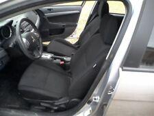 2011 11 Mitsubishi Lancer driver left Seat Front black no heat 35925