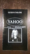Alec Guinness as Jonathan Swift in Yahoo in 1976 West End theatre programme