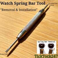 Watch Spring Bar Strap Remover Link Pins Repair Kit Tool UK SELLER !
