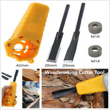 Angle Grinder Wood Carving Knife Chisel Woodworking Cutter Tool +Nut M10 M14 Kit