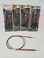 KnitPro Zing Circular needles, 100 cm, various sizes 2-12 mm