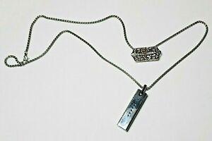 Fashion Necklace Pendant Holder Chain Unique Metal For Fitbit Flex2