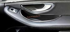 ABS Interior Rear Door Armrest Storage Box for Mercedes-Benz GLC 2015-2016 X205
