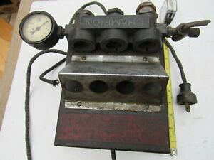 Vintage Champion Spark Plug Tester 1930s - Working and ready to be Restored