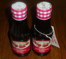 1994 Smuckers Red Raspberry Syrup Bottles Coupon Factory Sealed Collectible