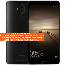 Huawei Mate 9 MHA-L29 4gb 64/128gb Octa Core 20mp Impronte Android 9.1 4g LTE
