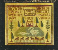 "Barrick Samplers ""Swan Valley"" Sampler Pattern"