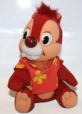 Chip and Dale Rescue Rangers Plush Stuffed Animal Disney Playskool 1989 Hawaiian