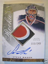 Steve Mason  2008-09 THE CUP ROOKIE PATCH AUTOGRAPH /249  WHAT A BEAUTY...!