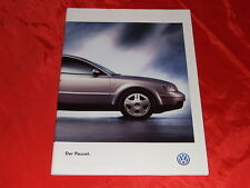 VW Passat Limousine Comfortline Trendline Highline V6 syncro Prospekt von 1997