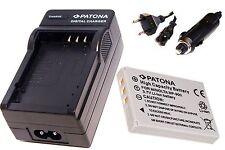 Ladegerät AKKU-Ladegerät und Akku / Batterie Kamera für Rollei RCP 8325 XS