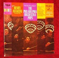 LP HENY MANCINI DEBUT W/ PHILADELPHIA ORCH POPS SEALED