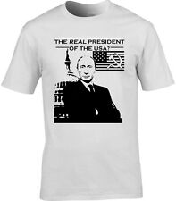VLADIMIR PUTIN President of America T-Shirt Satire Russia Russian Donald Trump