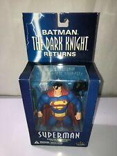 DC Direct The Dark Knight Returns Batman Superman Collector Action Figure NEW