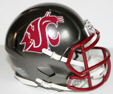 2016 Washington State Cougars Custom Riddell Mini Helmet vs Oregon