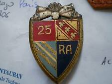 Insigne du 25° REGIMENT D'ARTILLERIE  /  DRAGO PARIS