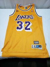 Adidas Magic Johnson Los Angeles Lakers Hardwood Classics Swingman Jersey  Size M 85be9a48d