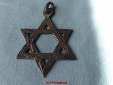 VINTAGE ISRAEL JEWISH STAR OF DAVID PENDANT 925 STERLING