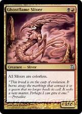 GHOSTFLAME SLIVER Time Spiral MTG Gold Creature — Sliver Unc