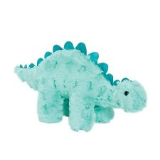 Manhattan Toy Little Jurassics Chomp Stegosaurus Teal Dinosaur Plush
