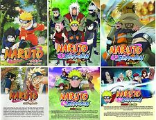 Anime DVD Shippuden Naruto Vol 1 - 540 Animation ENGLISH AUDIO 3 Box Sets