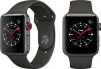 Genuine Apple Watch Series 3 GPS 42 mm Space Grey Water resistant Smart Watch