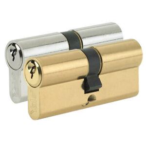 YALE Euro Cylinder Lock Door Barrel for uPVC Aluminium Timber Anti Pick Drill