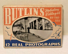 More details for butlins c1930s holiday camp real photo souvenir 12 real photos. art deco.1930s