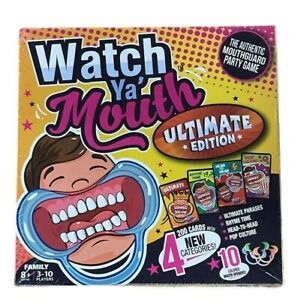Watch Ya' Mouth Family Edition -The Authentic, Hilarious, Mouthguard Party Game