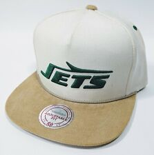 New York Jets Mitchell & Ness Vintage NFL Wool Blend Snapback Hat Cap