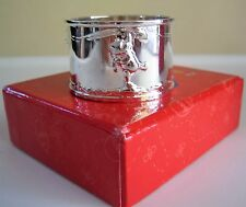 Disney Winnie The Pooh Napkin Ring Silver Plate, Baby Shower, Gift