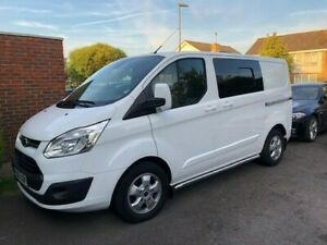 ford transit custom limited automatic swb low mileage 32,900 NO VAT NO RESERVE