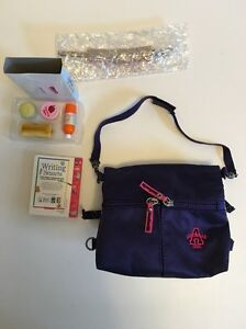 American Girl Today Pleasant Company Retired Reversibe School Bag & Lunch Set
