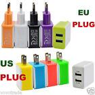 【 】EU/US 3A 2 Ports Prise USB Mural Voyage Chargeur AC Pour Smartphone tablettes