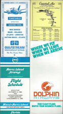 Commuter airlines timetable lot (4) [t004]