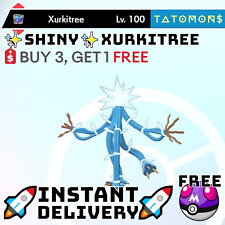 ✨ Shiny Xurkitree✨ Legendary Pokemon Sword and Shield 6 IV 🚀Fast Delivery🚀