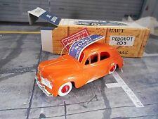 PEUGEOT 203 orange Kunsstoff Norev Sonderpreis 1:43