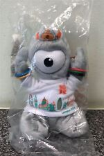 New Olympic 2012 Wenlock Mascot Cuddly Collectable - Skyline T-Shirt