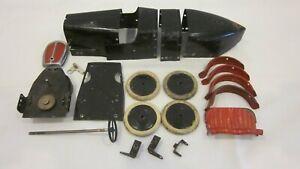 Meccano No 2 Constructor Car assorted parts.