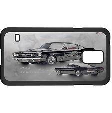 Vintage Black Car Hard Case Cover For Samsung New