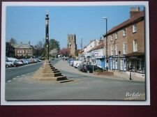 POSTCARD YORKSHIRE BEDALE - VIEW ALONG THE MAIN STREET
