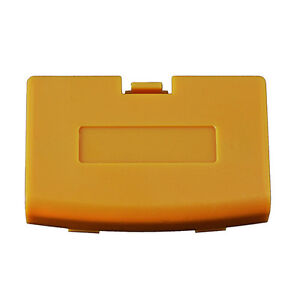 New ORANGE SPICE Battery Cover for Game Boy Advance System - Replacement Door