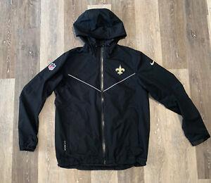Men's Nike New Orleans Saints On-Field Storm Fit Coaches Jacket Size Medium RARE