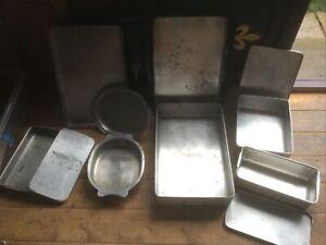 Vintage Grundy Aluminium Baking trays Job Lot